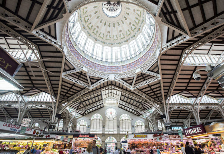 Mercado Central is the most famous market in Valencia and undoubtedly offers the best produce.